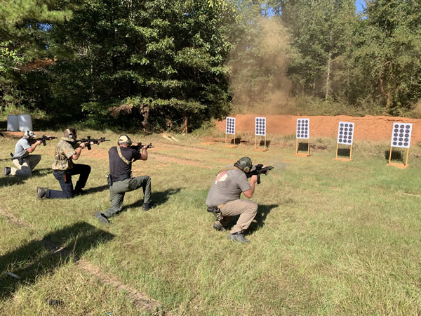 women gun training