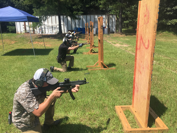 rifle training